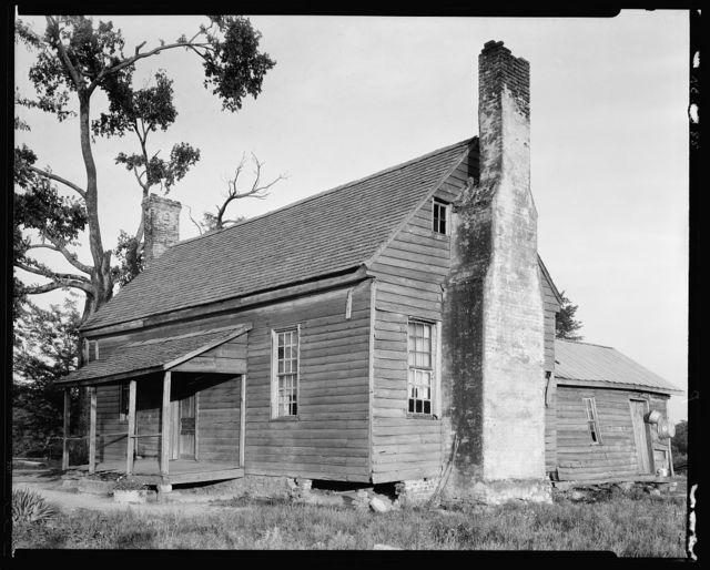 Falconer House, Louisburg vic., Franklin County, North Carolina