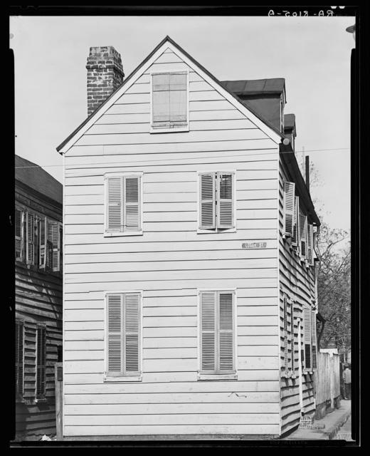 Frame house. Charleston, South Carolina