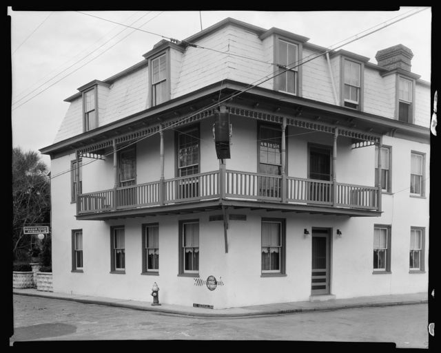 Graham House, 279 St. George Street, St. Augustine, St. Johns County, Florida