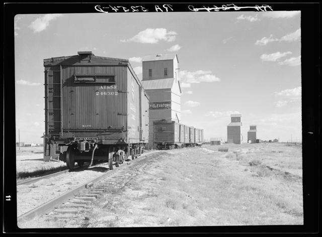 Grain elevators. Dumas, Texas
