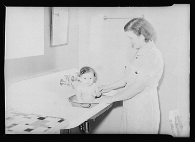 Granger, Iowa. First baby born on Granger Homesteads