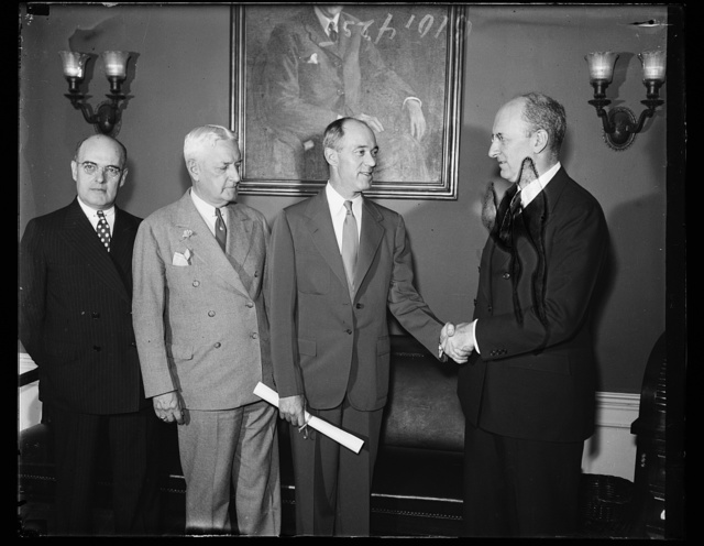 [Group: Henry Morgenthau, right]