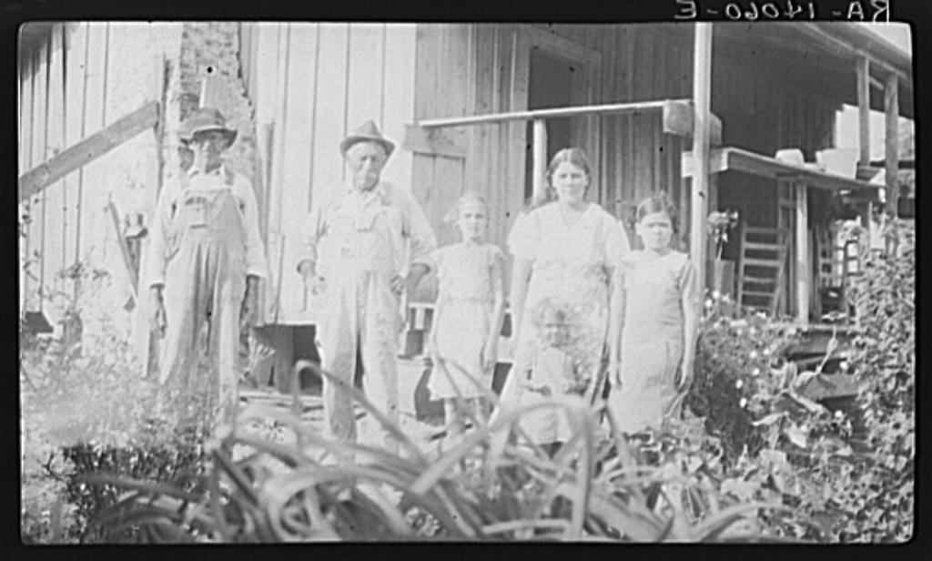 Gus Rivers, a Cajun living near the McIntosh community in Washington County, Alabama