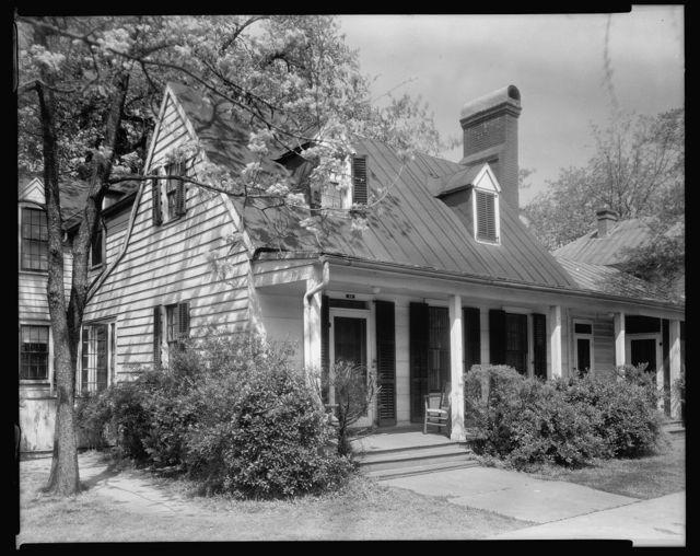 Hanff House, 48 George Street, New Bern, Craven County, North Carolina