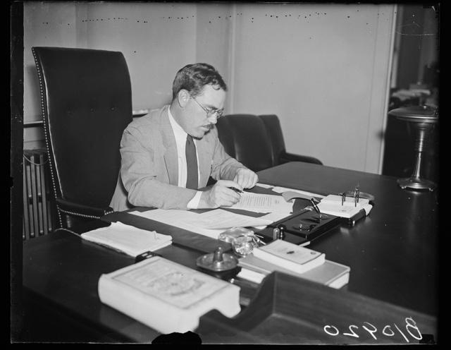 Heads Bureau of Federal Old-Age Benefits. Washington, D.C. Murray W. Latimer, Director, Bureau of Federal Old-Age Benefits, Social Security Board