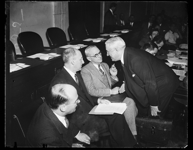 [Henry Morgenthau, 2nd from left]