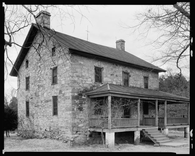 Hezekiah Alexander stone house, Charlotte vic., Mecklenburg County, North Carolina