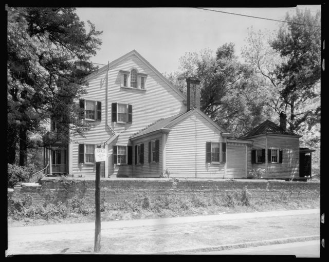 Hollister House, New Bern, Craven County, North Carolina