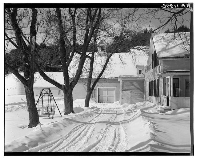 Home of dairy farmer. Windsor County, New Hampshire [i.e. Vermont]