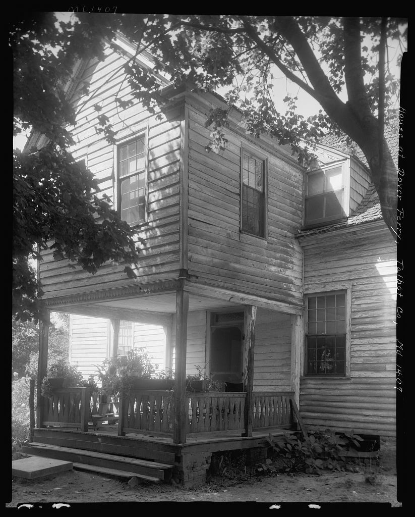 House at Dover Ferry, Dover Ferry, Talbot County, Maryland