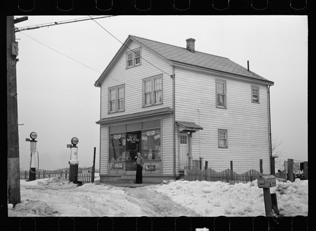 House off Lincoln Highway, Franklin Township, Bound Brook, New Jersey