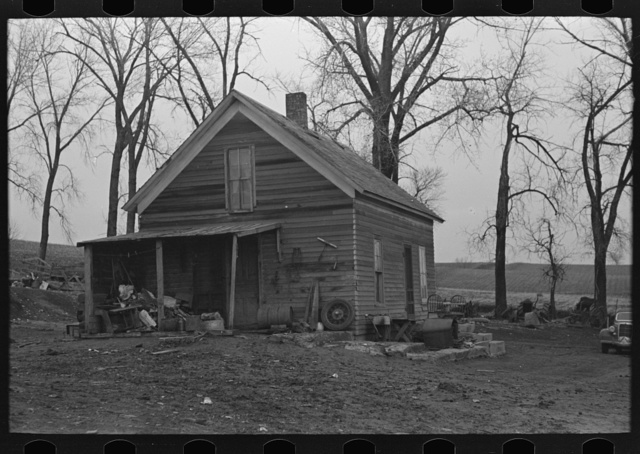 House on William McDermott farm near Anthon, Iowa