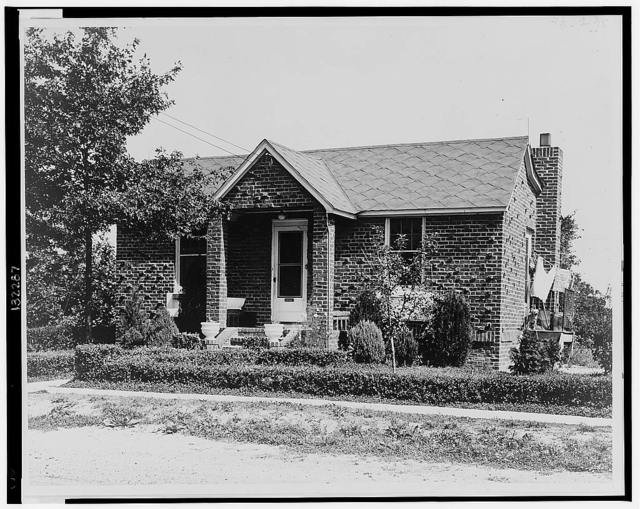 House owned by Mrs. Edward Cooney at Rita Place, Copeague, L. I. / World-Telegram photo.