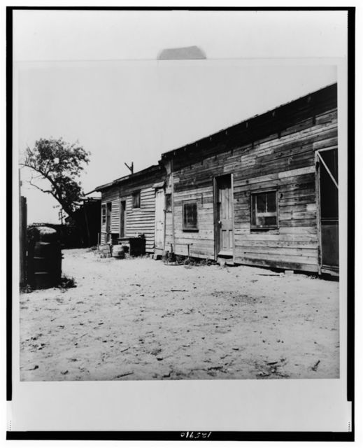 Housing of migrant berry pickers in southern New Jersey