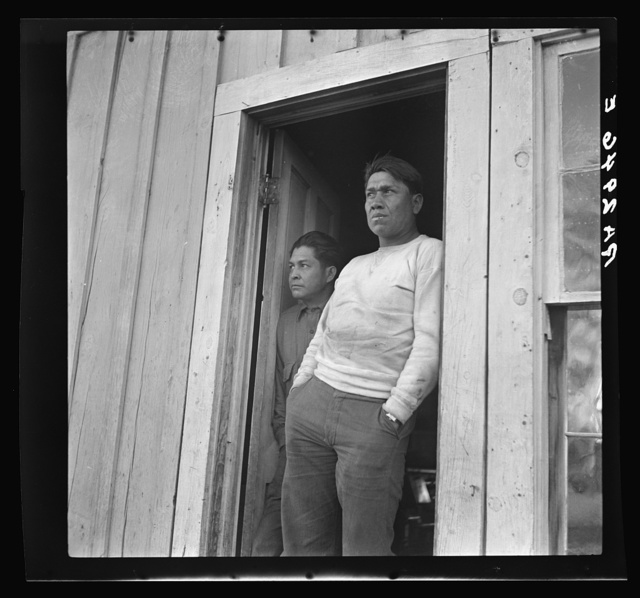 Indian on the Mescalero Apache Reservation, New Mexico