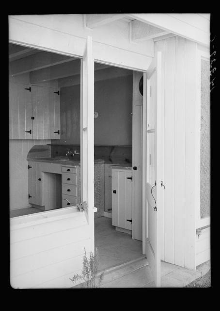Interior view of kitchen. Chandler, Arizona. Apartments, Chandler tract