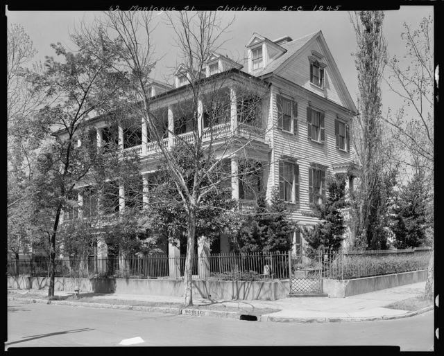 Josiah Smith House, Charleston, Charleston County, South Carolina
