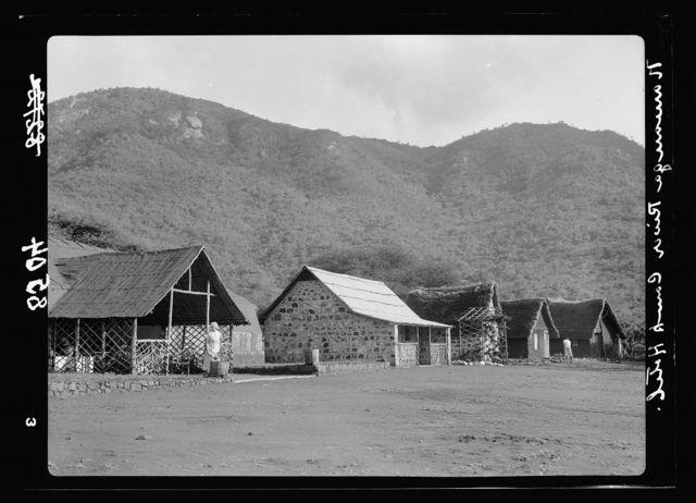 Kenya Colony. Namanga, southern game reserve. Namanga River Camp Hotel