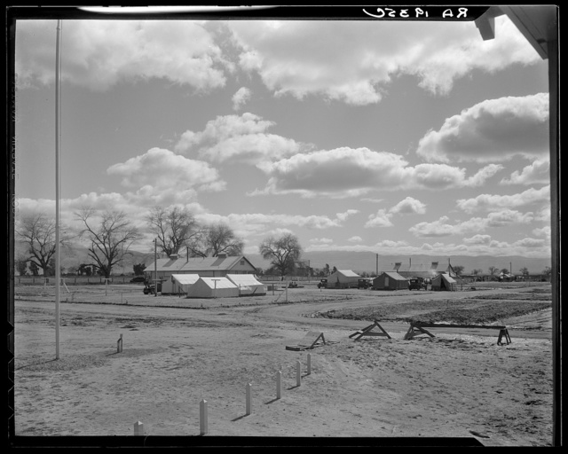 Kern County migrant camp. California