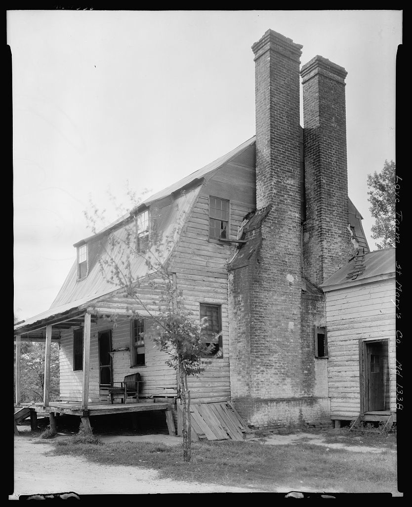 Love Farm, Morganza vic., St. Mary's County, Maryland