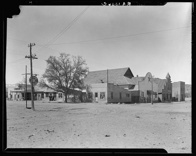 Main street and town center. Escalante, Utah