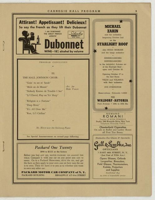 [ Martha Graham, Carnegie Hall, October 2, 1936]
