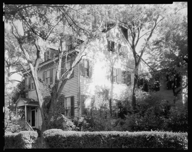 Mrs. Richard Duffy House, New Bern, Craven County, North Carolina