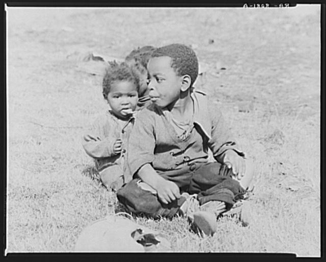 Negro children. Tupelo, Mississippi