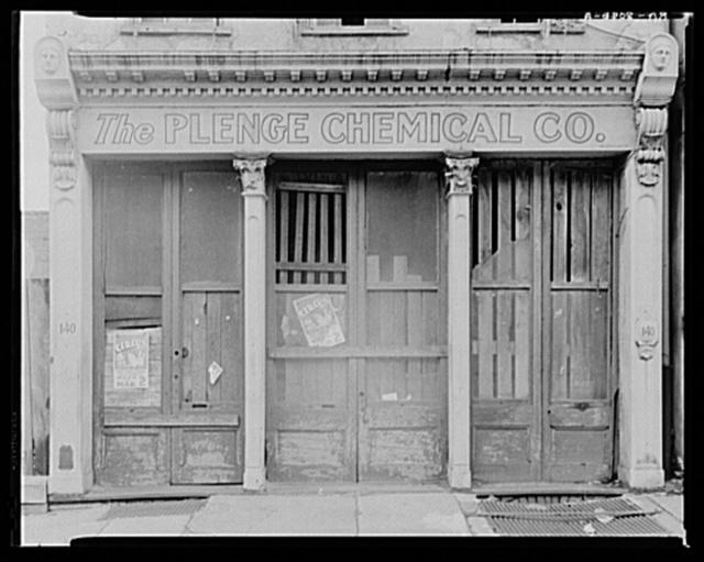 Nineteenth-century shop front. Charleston, South Carolina