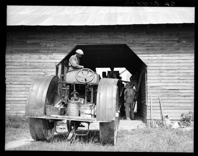 North Carolina threshing