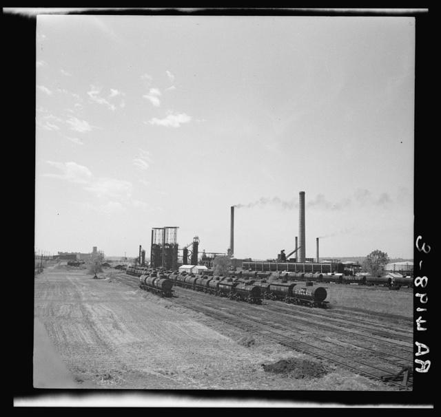 Oil refinery. Kansas City, Kansas
