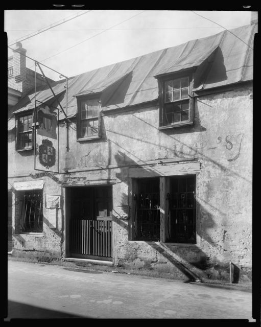 Old Curiosity Shop, 54 St. George Street, St. Augustine, St. Johns County, Florida