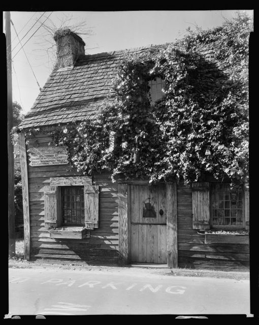 Oldest School House, St. Augustine, St. Johns County, Florida