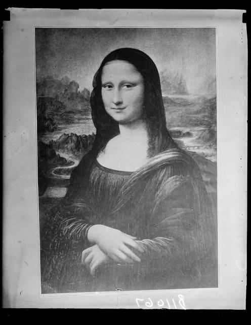 [Painting: Mona Lisa]