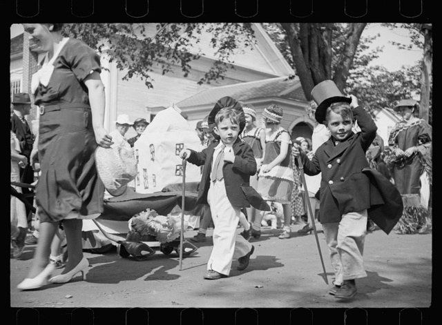 Parade at the fair, Albany, Vermont