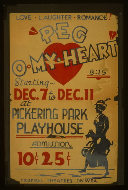 """Peg o'my heart"" Love, laughter, romance!"