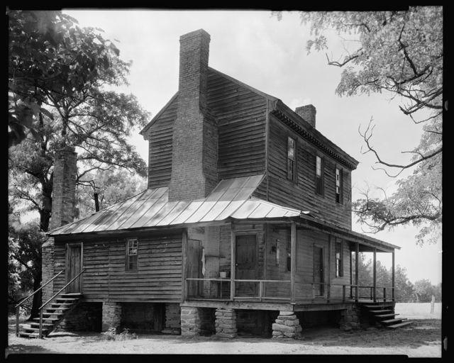 Peggy Wright House, Louisburg vic., Franklin County, North Carolina