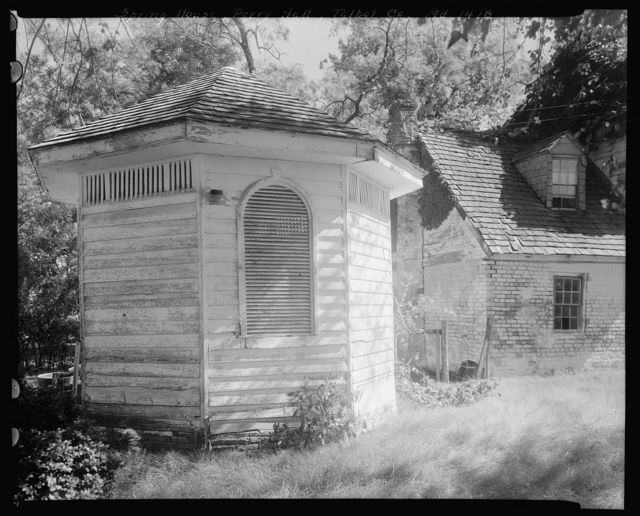 Perry Hall, spring house, Kirkham, Talbot County, Maryland
