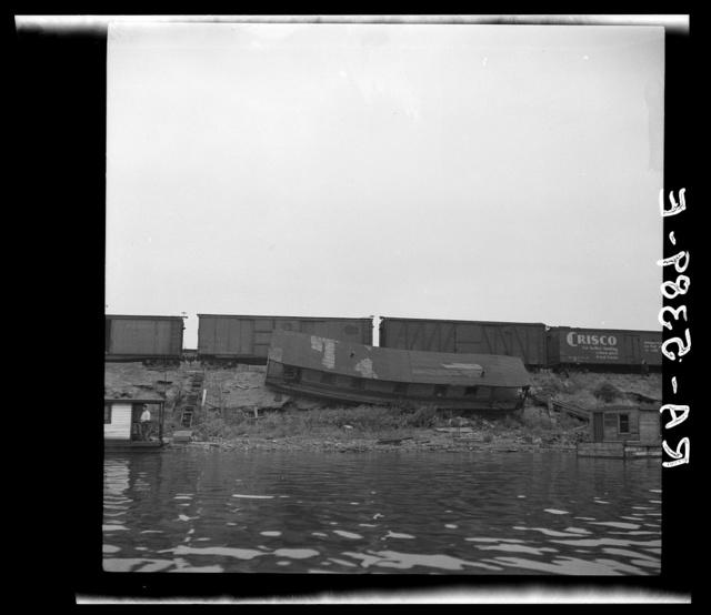 Pittsburgh waterfront. Monongahela and Allegheny Rivers, Pennsylvania