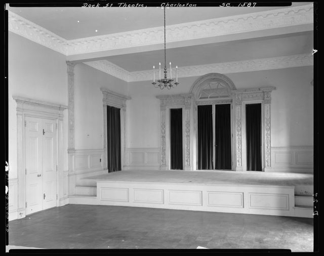 Planter's Hotel, Dock Street Theatre, Charleston, Charleston County, South Carolina