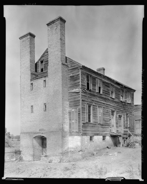 Port Tobacco Houses, Port Tobacco, Charles County, Maryland