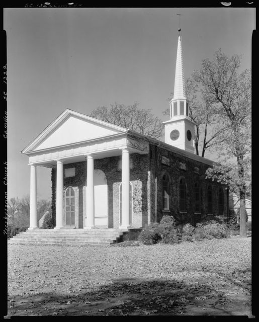 Presbyterian Church, Camden, Kershaw County, South Carolina