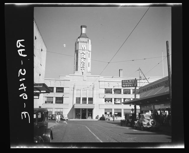 Public market at Portland, Oregon
