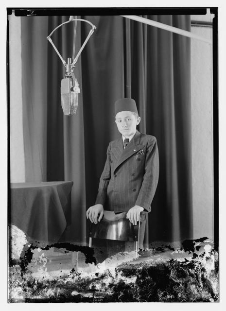Radio artists, PBS [i.e., Palestine Broadcasting Service], Jerusalem