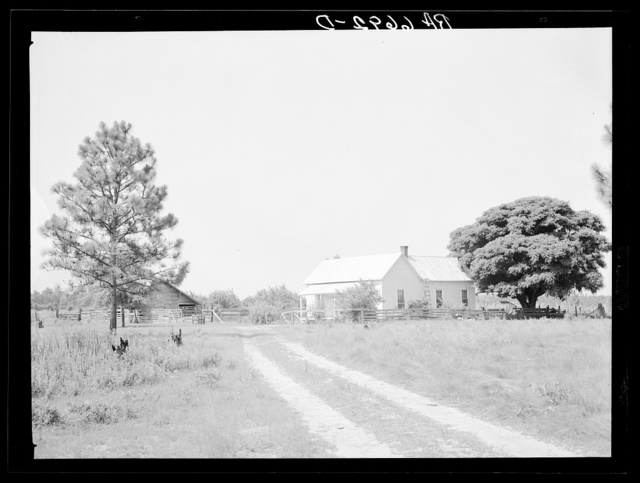 Repaired house at Irwinville Farms, Georgia. There are twenty-three houses repaired in this manner on this Resettlement Administration project