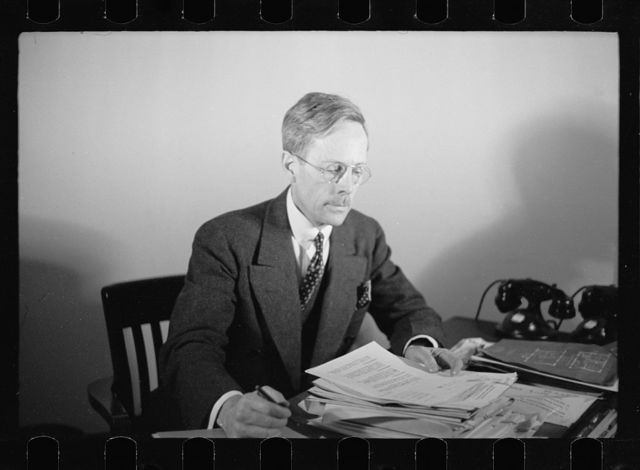 R.J. Wadsworth, Washington, D.C., Assistant Chief of Architectural Section, Berwyn project, Suburban Resettlement Division