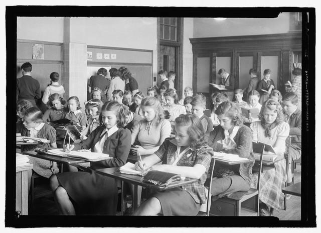Rockville, Md., High School, c.1936
