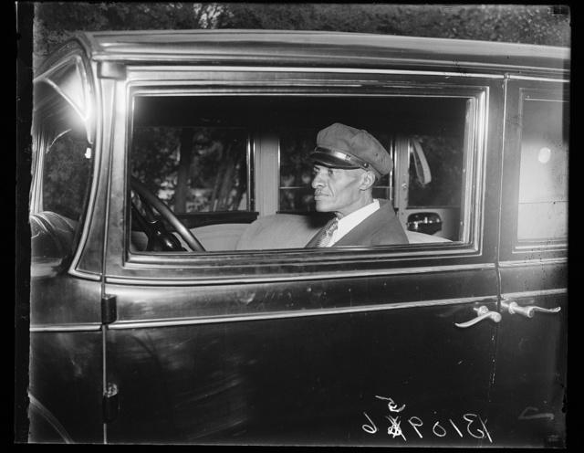 Roy Hogan, Chauffer to Gov. Landon