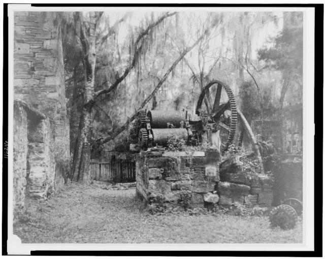[Ruins of an early sugar mill, Orange City, Volusia Co., Florida]