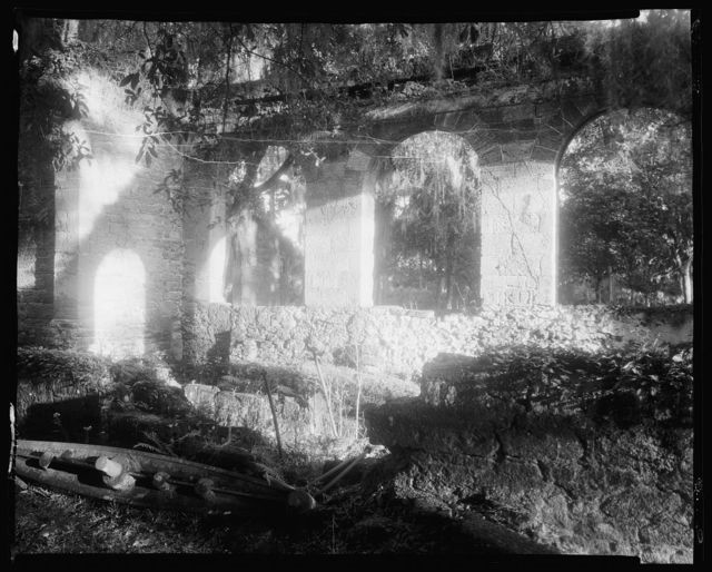 Ruins of Monastery, New Symrna, Volusia County, Florida